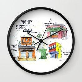 Toronto Irish Pubs Wall Clock