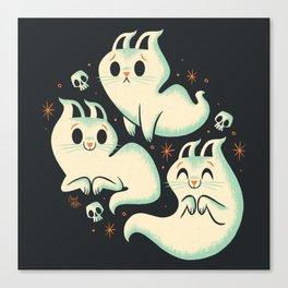 Ghost Cats Canvas Print