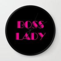 boss Wall Clocks featuring Boss by AE Interiors