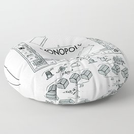 Monopoly Floor Pillow