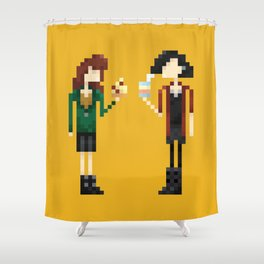 Freakin' Friends III Shower Curtain