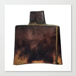 Photograph of Square Vase, Ceramic Art by Rostislav Eismont of Whipple Hill Art Collective Canvas Print