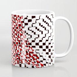 black white red 2 Coffee Mug