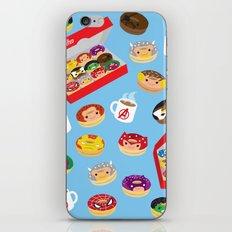 Donut-vengers iPhone & iPod Skin