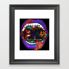 Buku Music & Art Project Framed Art Print