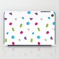confetti iPad Cases featuring Confetti by Eric Zelinski
