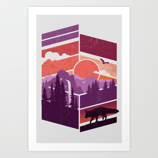 Vanishing Points Art Print