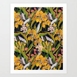 Lush Print- Amber Art Print