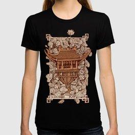Dien Huu pagoda in Hanoi T-shirt