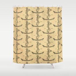Aldus Manutius Printer Mark Shower Curtain