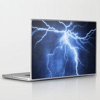 lightning Laptop & iPad Skins featuring Lightning by Svetlana Sewell