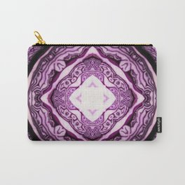VeggieMandala Red Cabbage 3 Carry-All Pouch