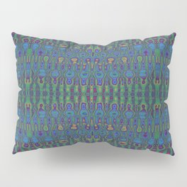 Cosmic Radio Interference Abstract Pillow Sham