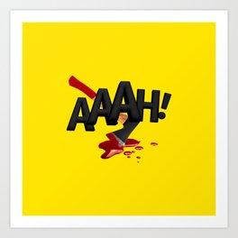 ONMTP - BIG AAAH! Art Print