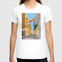 Cartagena de Indias, Colombia Travel Poster T-shirt