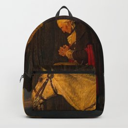 George Washington Praying Backpack