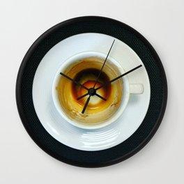 Café sólo Wall Clock
