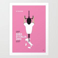 MY GIRO D' ITALIA MINIMAL POSTER Art Print