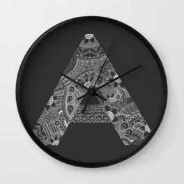 Aa Wall Clock