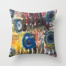 Abstract Nr. 2 Throw Pillow