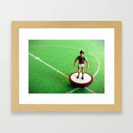Aston Villa Subbuteo Player 1990 Framed Art Print