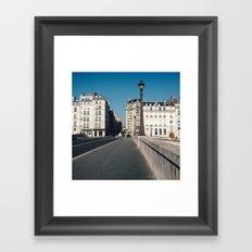 Perfect Day in Paris - Ile Saint Louis Framed Art Print