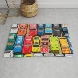 Retro Toy Cars Rug
