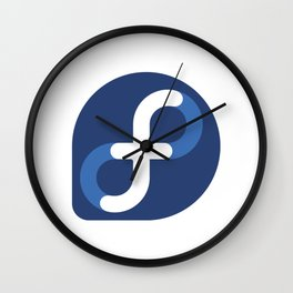 Fedora Linux Wall Clock