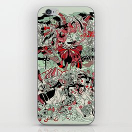 UNINVITED GARDEN iPhone Skin