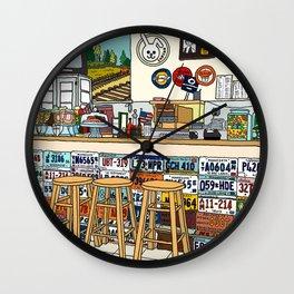 Arizona Flagstuff Diner Wall Clock