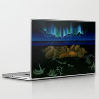 mythology Laptop & iPad Skins featuring Inuit Mythology: Chapter 1, part 10 by Estúdio Marte