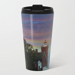 Two Harbors lighthouse Travel Mug