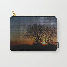 perfect suburban sunrise.    first series: dark before dawn 3-3 Carry-All Pouch