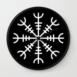 Aegishjalmur v2 Wall Clock