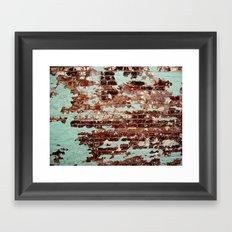 Half Naked Bricks Framed Art Print