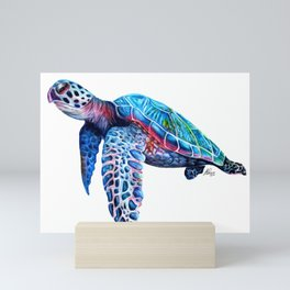 Sea Turtle Mini Art Print