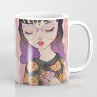 loll3 Mugs featuring Pumpkin by lOll3