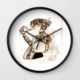 WALL-ace Wall Clock