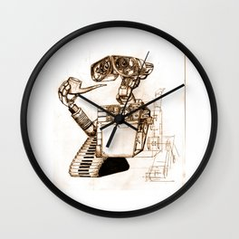 WALL-ace Wall Clock