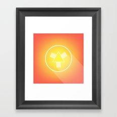 Icon No. 4. Framed Art Print