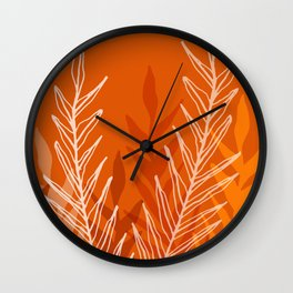 Late Summer Meadow Wall Clock
