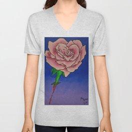 Every Rose has Thorns Unisex V-Neck