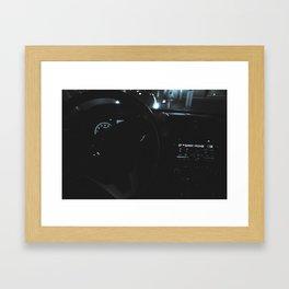 A Chance Drive Framed Art Print
