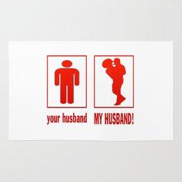 MY HUSBAND - TROMBONIST Rug