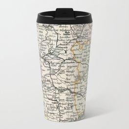 Vintage Map of Austria Travel Mug