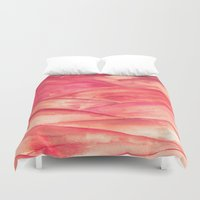 dune Duvet Covers featuring Purple Dune by Lord Egon Will