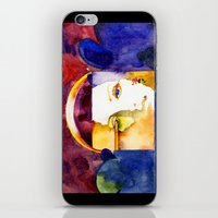 madonna iPhone & iPod Skins featuring Lady Madonna by Ecsentrik