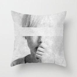 Doubts ... Throw Pillow