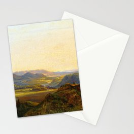 Christian Ernst Bernhard Morgenstern From Hardanger in Norway, Summer Stationery Cards