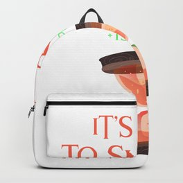 It's time to survive (+150 Speed) Backpack